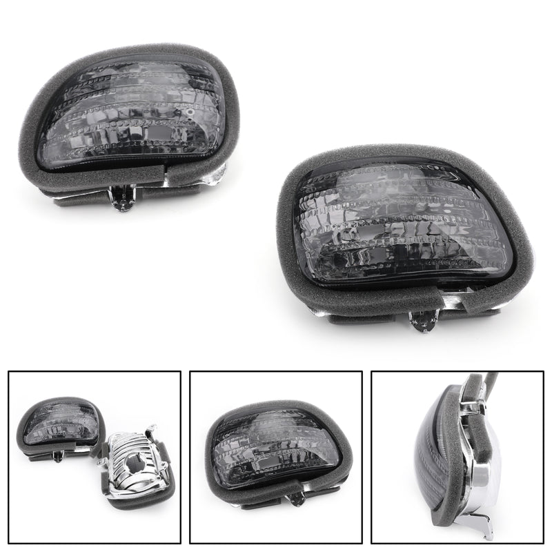 Front Turn Signals For Lens Honda GL1800 Goldwing (01-2010) Generic