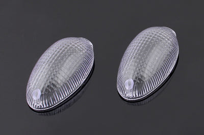 Front Turn Signals Lens For Ducati Monster 2006-2010 Clear