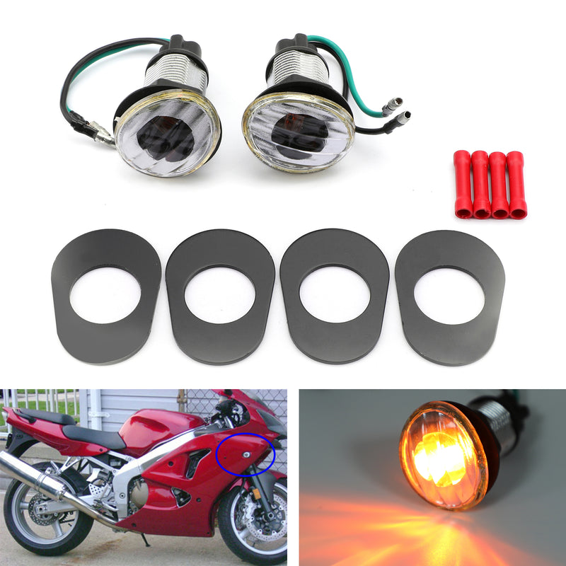 Turn Signals For Kawasaki Ninja ZZR 600 Mini (05-2006)