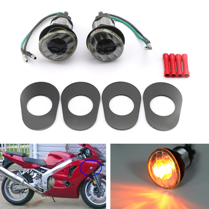 Turn Signals For Kawasaki Ninja ZZR 600 Mini (05-2006) Generic