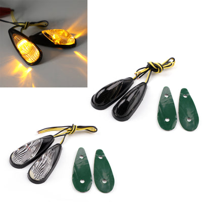 Generic Flush Mount LED Euro Rear Turn Signals for Honda CBR 600 900 929 1000 RR