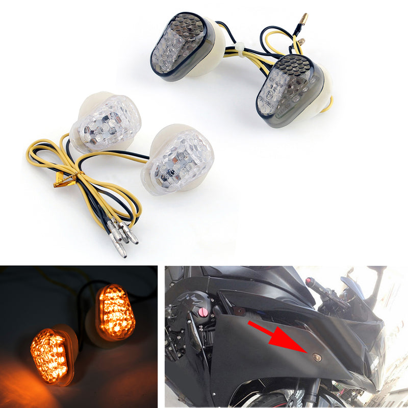 LED Turn Signals Yamaha FZ1 (06-2013) FZ6 (04-2013) R1 (02-2013) R6 (03-2013)