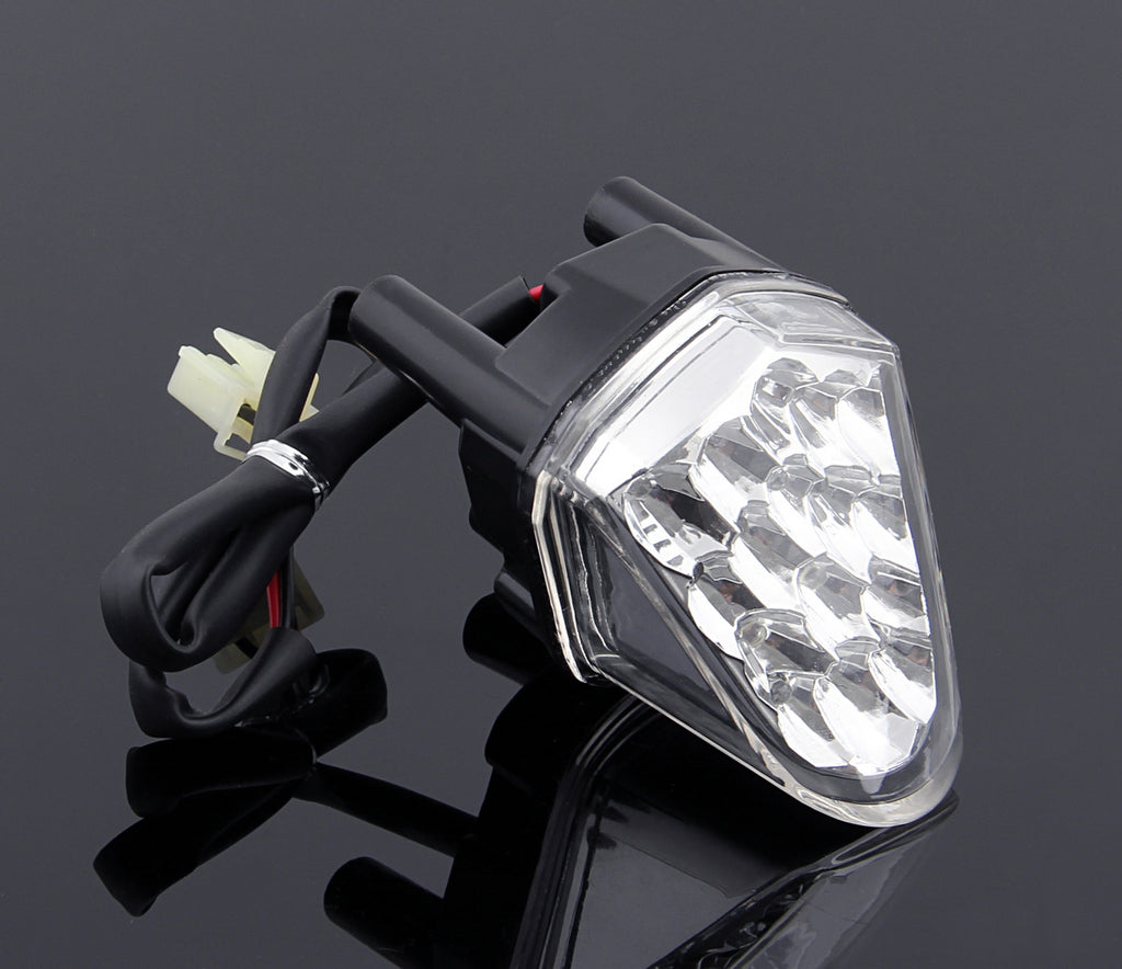 LED Rear Night Running lights For Yamaha YZF 600 R6 2006-2007 Clear