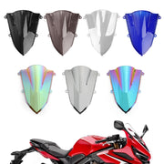 1x ABS Plastic Motorcycle Windshield Windscreen For Honda CBR500R CBR 500 R 2019