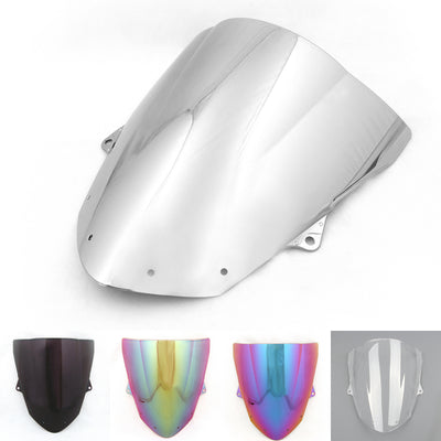 Windshield WindScreen Double Bubble For Kawasaki ZX6R 2009-2014 ZX10R (08-10)