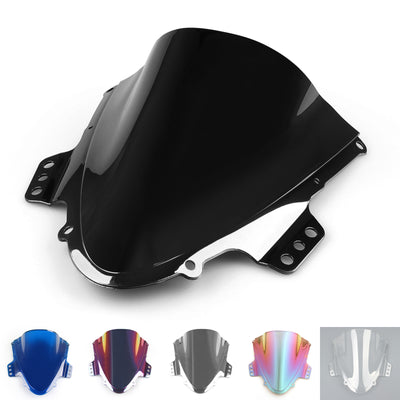 Windshield WindScreen Double Bubble For Suzuki GSXR 1000 2005-2006 K5 Black