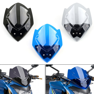 New Windscreen Windshield For SUZUKI GSX-S1000 2015-2017 2016 Black
