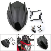 ABS Windscreen Windshield Screen with Bracket For Suzuki GSX-S 750 2017