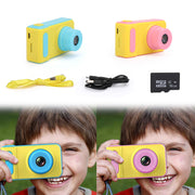 Kids Mini Digital Camera 2.0 HD Screen Anti-Shake Camcorder /+16GB Memory Card
