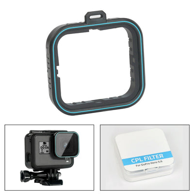 TELESIN CPL Camera Lens Polarizing Filter for GoPro hero 7/6/5