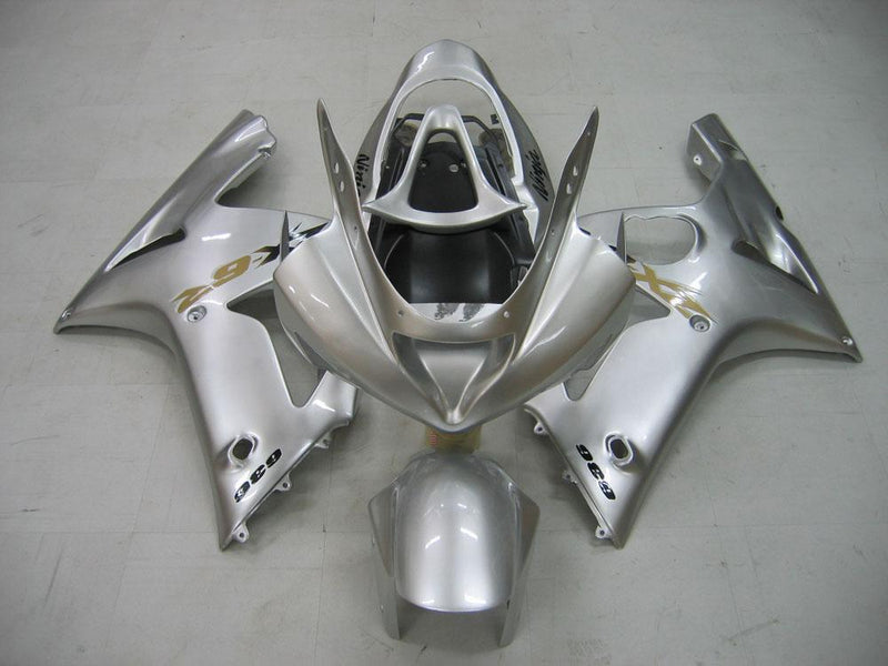 Bodywork Fairing ABS Injection Molded Plastics Set For ZX6R 636 (2003-2004) 22 Color Generic