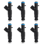 6PCS 4-Hole Upgrade Fuel Injectors For Cherokee Grand Cherokee