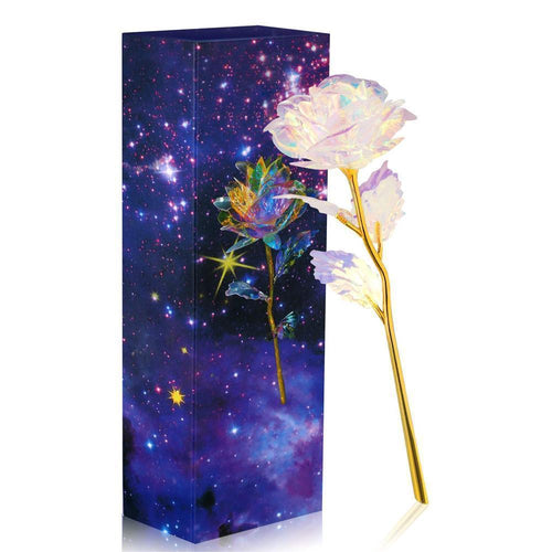 Galaxy led rose