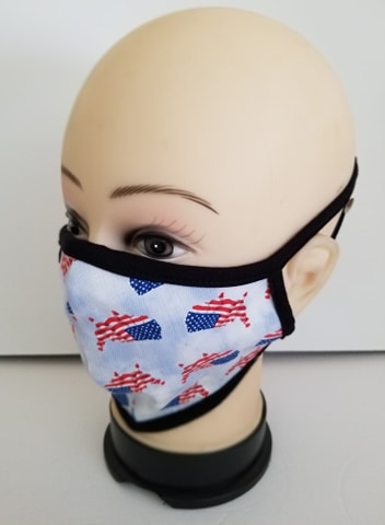 All American USA Jean Mask