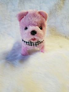 Cotton candy the doggy toy