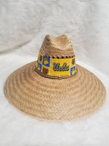 fan straw hat - ucla