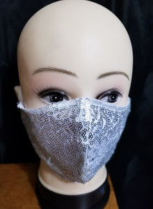 Angelic White sequence Mask
