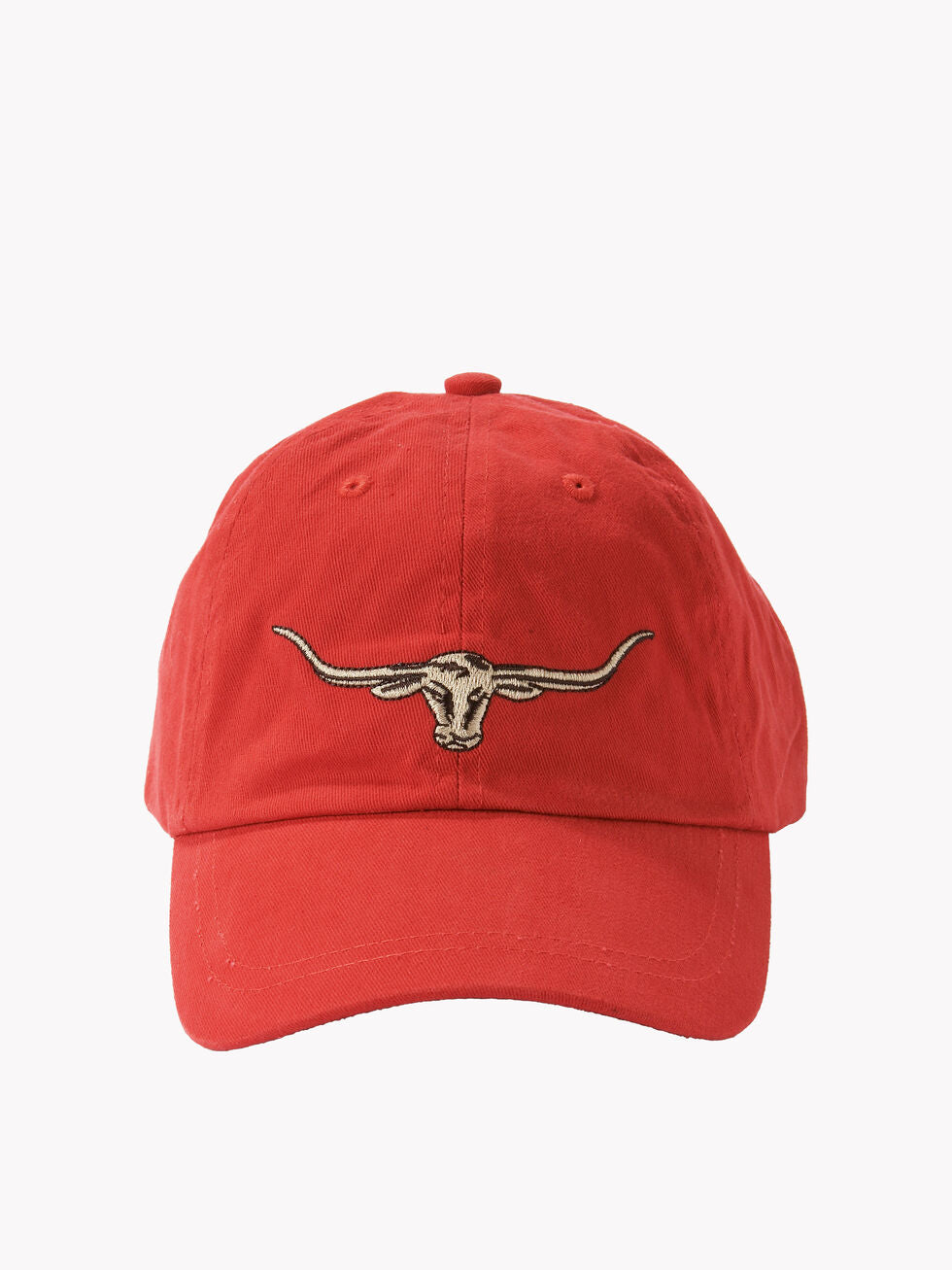 RMW Steers Head Logo Cap - Red