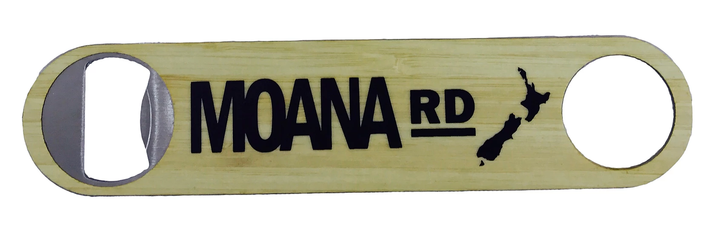 Moana Road Wood Bottle Opener - Large
