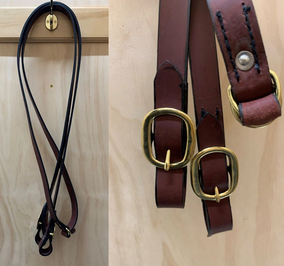 Easts Latigo Leather Reins