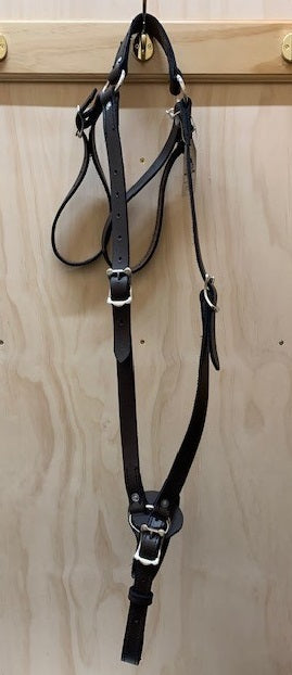 Easts Leather/Webbing Breastplate Martingale 25mm