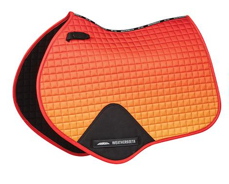 WeatherBeeta Prime Ombre Jump Shaped Saddle Pad