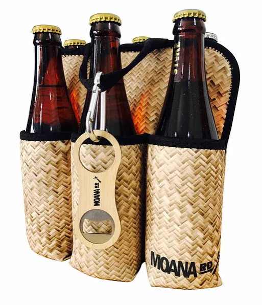 Moana Road Six Pack Holder - Flax