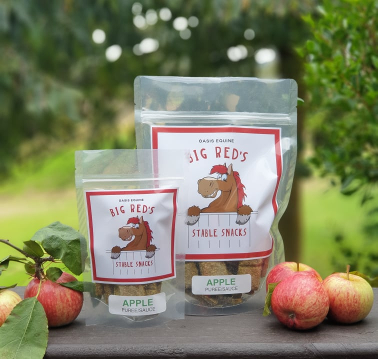 Big Red Stable Snacks 400g - Apple