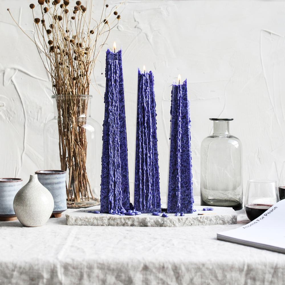 Living Light Night Bloom Icicle Candle