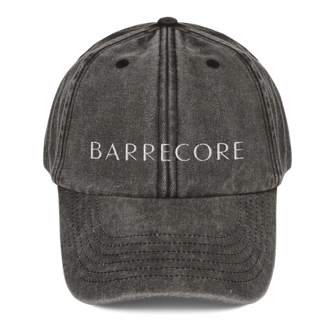 Barrecore Dad Hat - Faded Charcoal/Burgundy/Navy