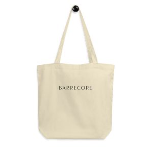 Barrecore Eco Tote Bag - 100% unbleached organic cotton