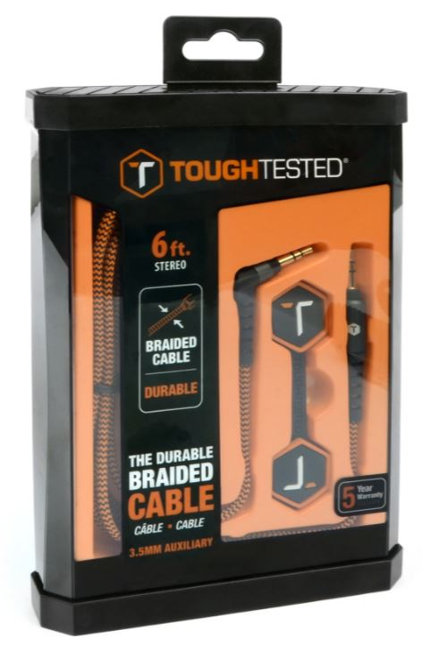 ToughTested 3.5MM Auxiliary Cable
