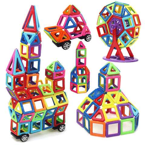 Big Size Magnetic Blocks Educational Construction - KidzCastlez
