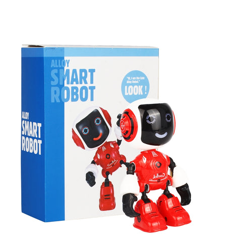 Mini Electric LED Sound Intelligent Alloy Robot - KidzCastlez