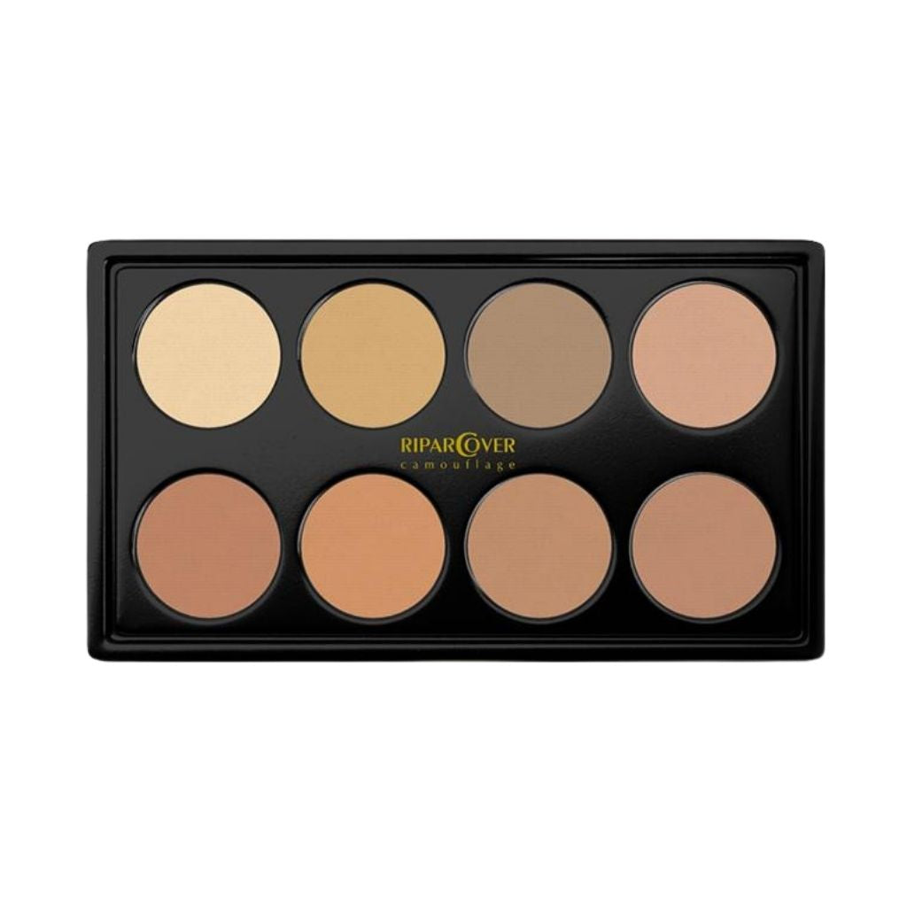 Foundation Cream Light Skin Tones Palette