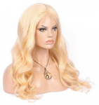 Body Wave Russian Blonde Lace Frontal Wig Unit