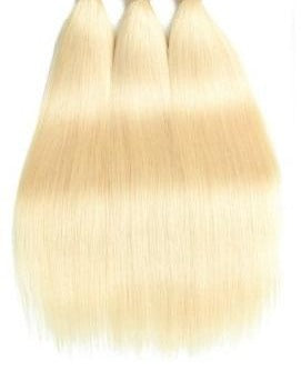 Virgin Platinum Russian Blonde - Straight Bundles