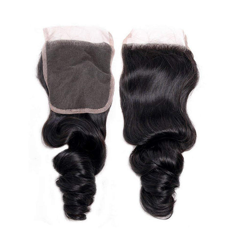 Virgin Lace Closure - Loose Wave