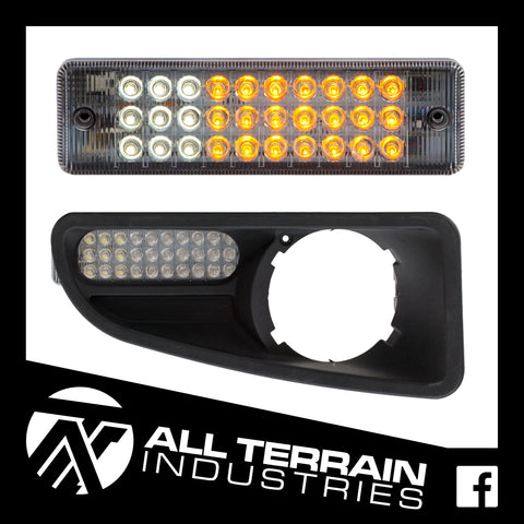 ATI LED BULLBAR INDICATOR/PARKER UPGRADE - ARB & NISSAN GENUINE