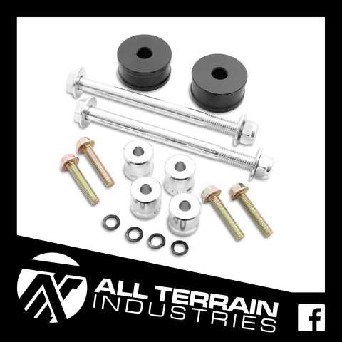 ATI 25MM DIFF DROP KIT - TOYOTA HILUX FORTUNER FJ CRUISER 150 PRADO 2005-CURRENT