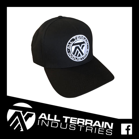 ATI 'TEN FOUR' SNAPBACK CAP - BLACK
