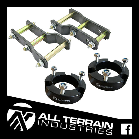 "ATI STAGE 1 LIFT KIT - 2.5"" FRONT + 2"" REAR - ISUZU DMAX/HOLDEN COLORADO 2012-CURRENT"