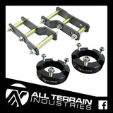 "ATI STAGE 1 LIFT KIT - 2"" FRONT + 2"" REAR - NISSAN NAVARA NP300 2015-CURRENT"