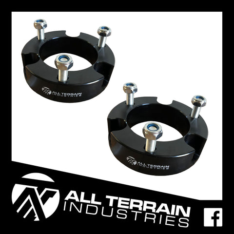 ATI 25MM STRUT SPACERS - NISSAN D40/NP300 NAVARA 2005-CURRENT