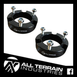ATI 25MM STRUT SPACERS - HOLDEN COLORADO/ISUZU DMAX & MUX/TOYOTA PRADO 90