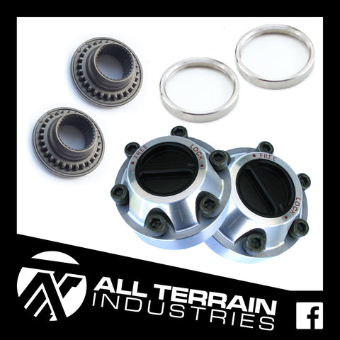 ATI FREE WHEELING HUB KIT - NISSAN PATROL GQ/GU & FORD MAVERICK - AUTO TO MANUAL HUB CONVERSION