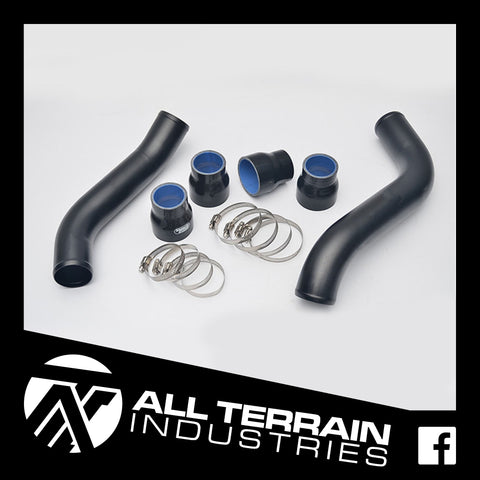 ATI INTERCOOLER HARD PIPE UPGRADE - BLACK - ISUZU DMAX/MUX 3.0L 2017-CURRENT