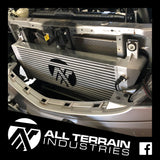 ATI PERFORMANCE INTERCOOLER UPGRADE - BLACK - FORD RANGER/MAZDA BT50 2.2L/3.2L 2011-CURRENT