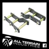 "ATI STAGE 1 LIFT KIT - 2"" FRONT + 2"" REAR - ISUZU DMAX/HOLDEN COLORADO 2012-CURRENT"
