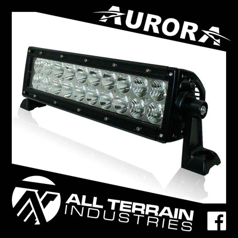 "AURORA 10"" DOUBLE ROW LED LIGHT BAR"